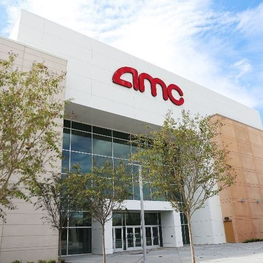 Metropark AMC Theater Frontage