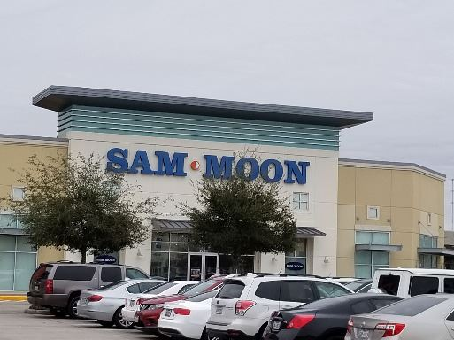 View of Sam Moon from Parking Lot