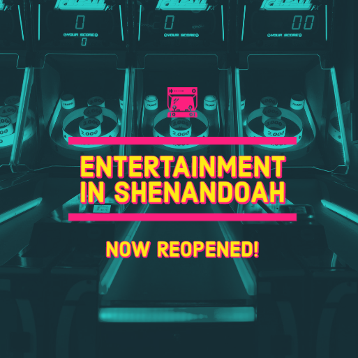 Entertainment Reopened graphic