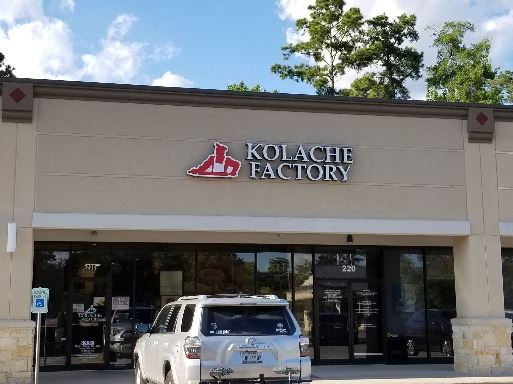 Exterior of Kolache Factory
