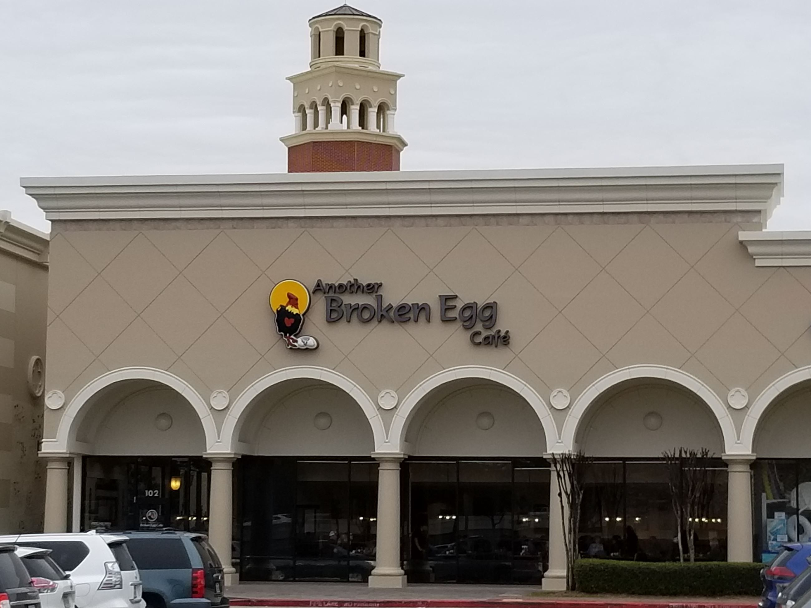 Exterior of Another Broken Egg Cafe
