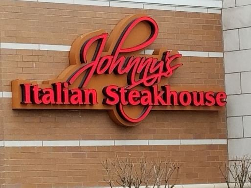 Exterior of Johnnys Italian Steakhouse
