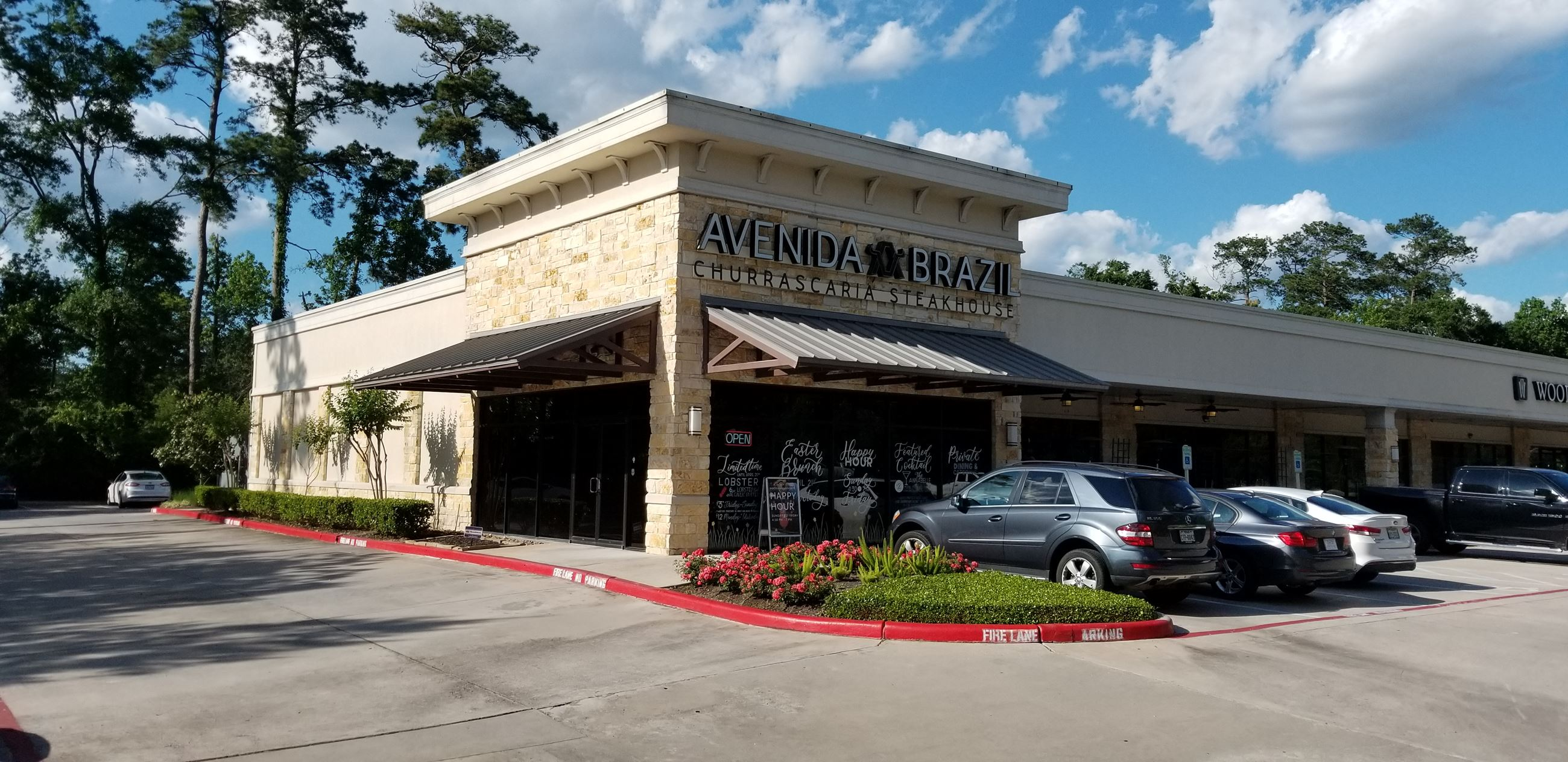Exterior of Avenida Brazil Churrascaria Steakhouse