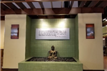 Buddha Statue in the Aveda Institute Lobby